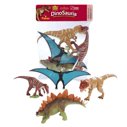 WILD REPUBLIC Bags Dinosaur A 4pc
