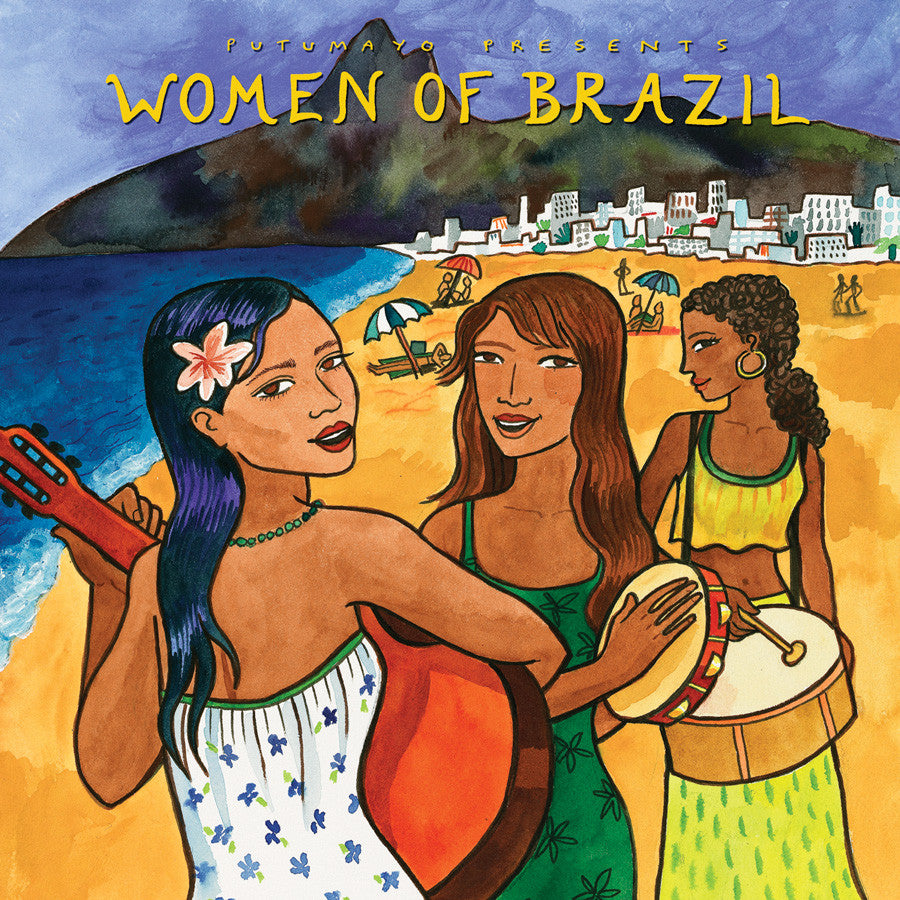 PUTUMAYO MUSIC Women of Brazil CD