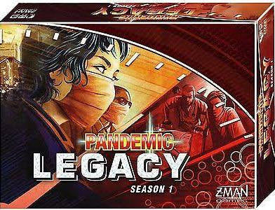 PANDEMIC Legacy Red Edition