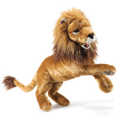 FOLKMANIS  HAND PUPPET Lion Large - NEW -Huge