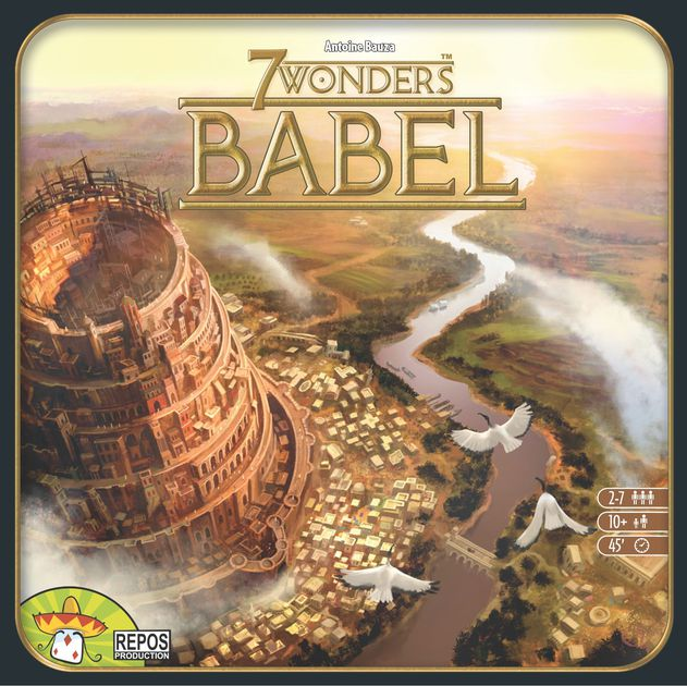 7 WONDERS Cities Board Game - Expansion Babel