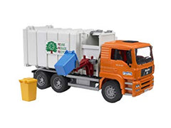 BRUDER - BR1:16 MAN TGS Side loading garbage truck 03761