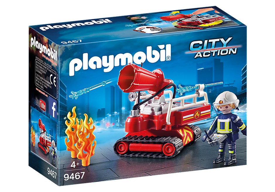 PLAYMOBIL City Action - Fire Cannon - 9467