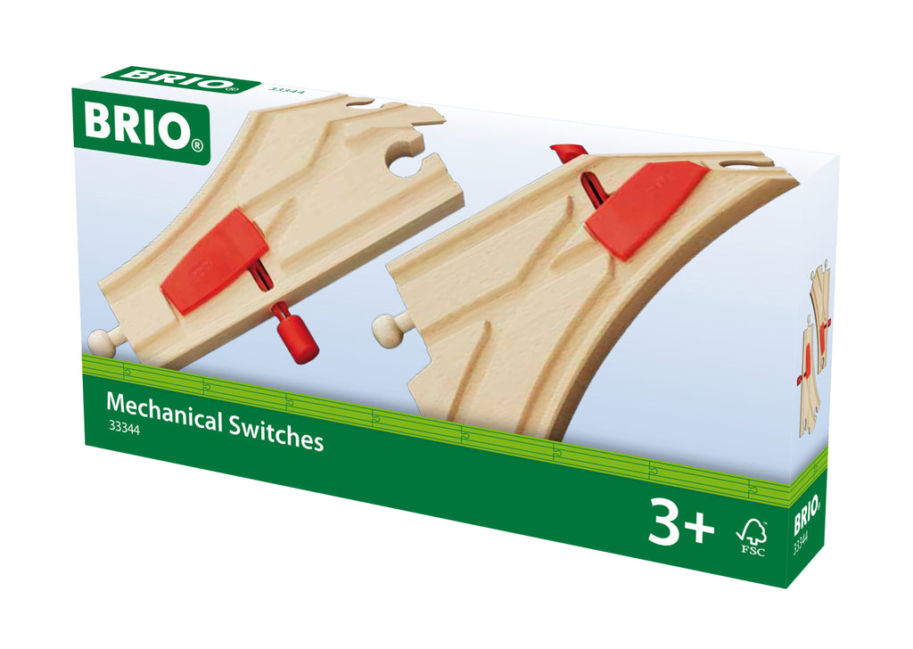 BRIO Tracks - Mechanical Turntable 33344
