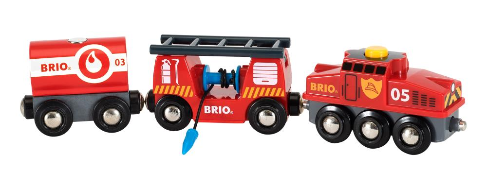 BRIO Rescue Fire Fighting Train 33844