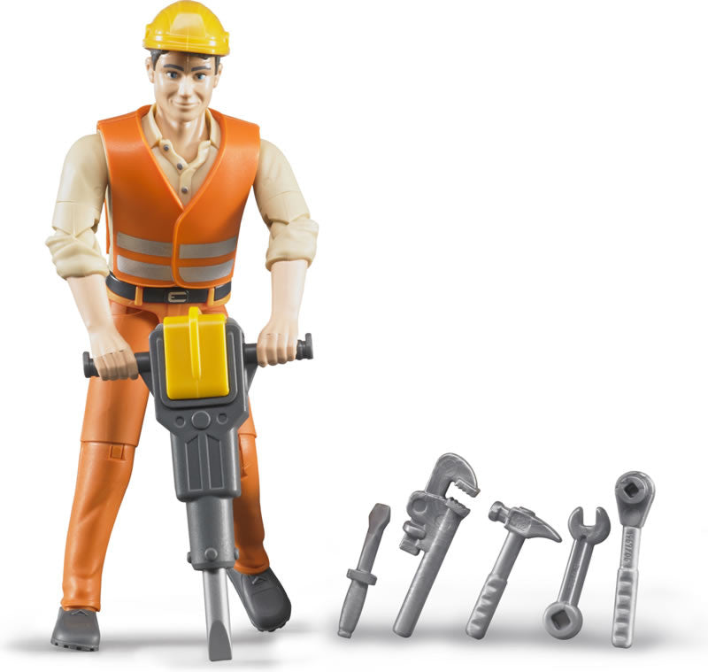BRUDER - Construction Worker with Tools 60020