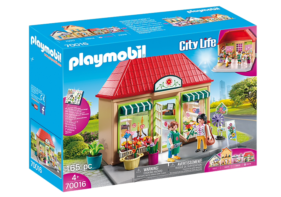 PLAYMOBIL Shopping - Flower Shop - 70016