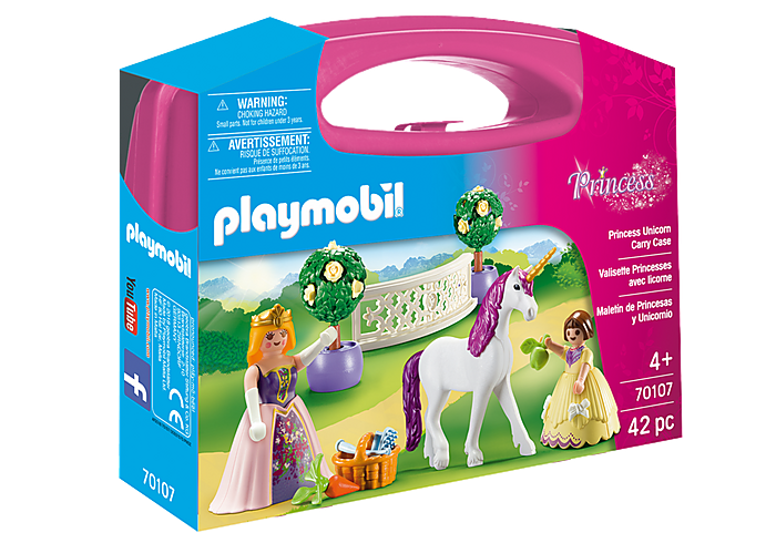 PLAYMOBIL Carrying Case - Princess with Unicorn