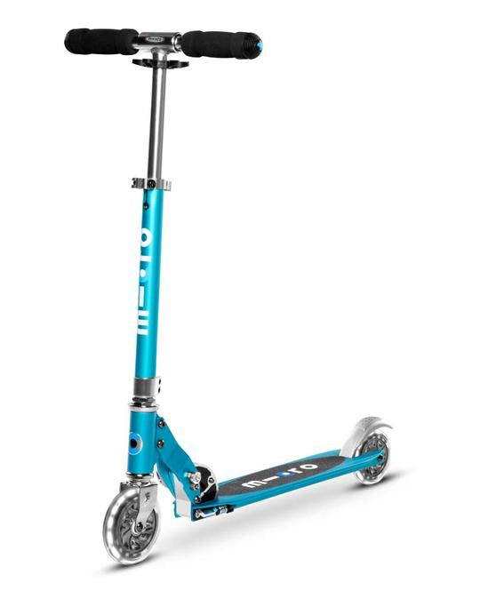 MICRO SCOOTER - Sprite LED Light Up Scooter - Ocean Blue
