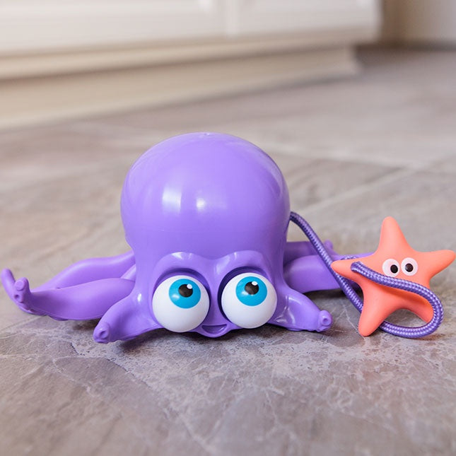 FAT BRAIN TOYS - Inky Octopus Pull Along