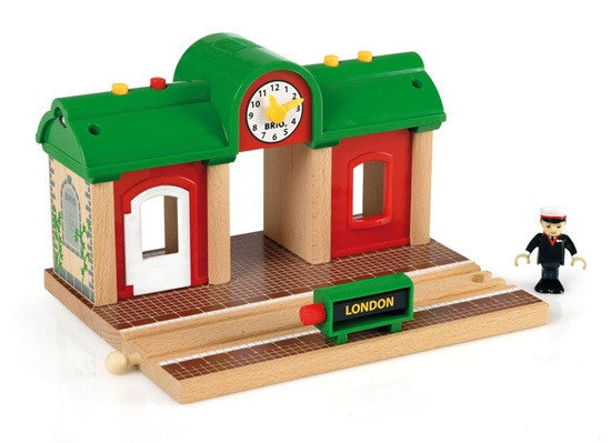 BRIO Railway Station Record & Play 33578