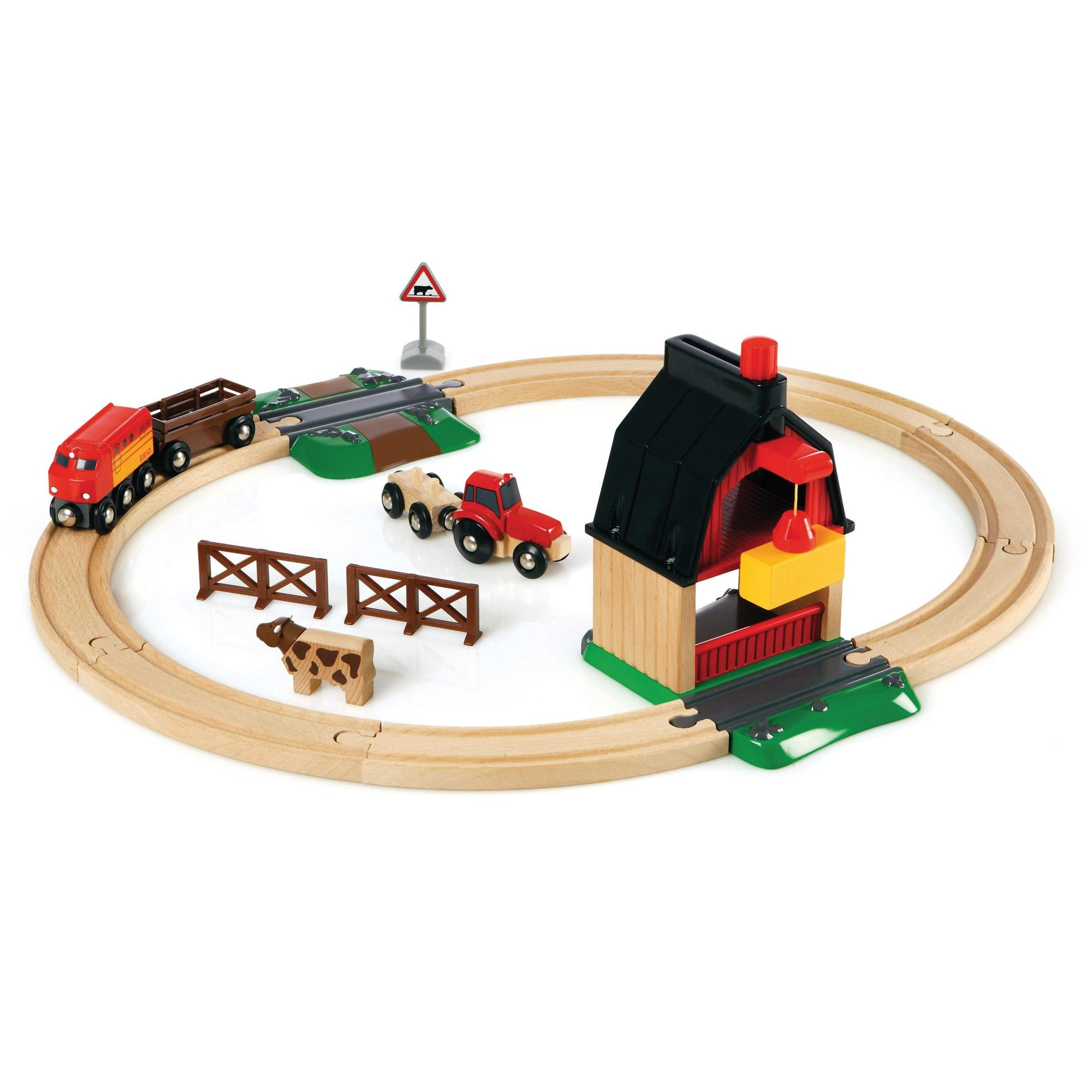 BRIO Train Set - Farm Railway 33719