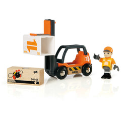 BRIO Vehicle Forklift Set 33573