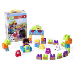 MINILAND EDUATIONAL - Super Blocks: Farm (38 pieces)
