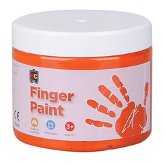 EC Finger Paint - 250ml Tub - Orange