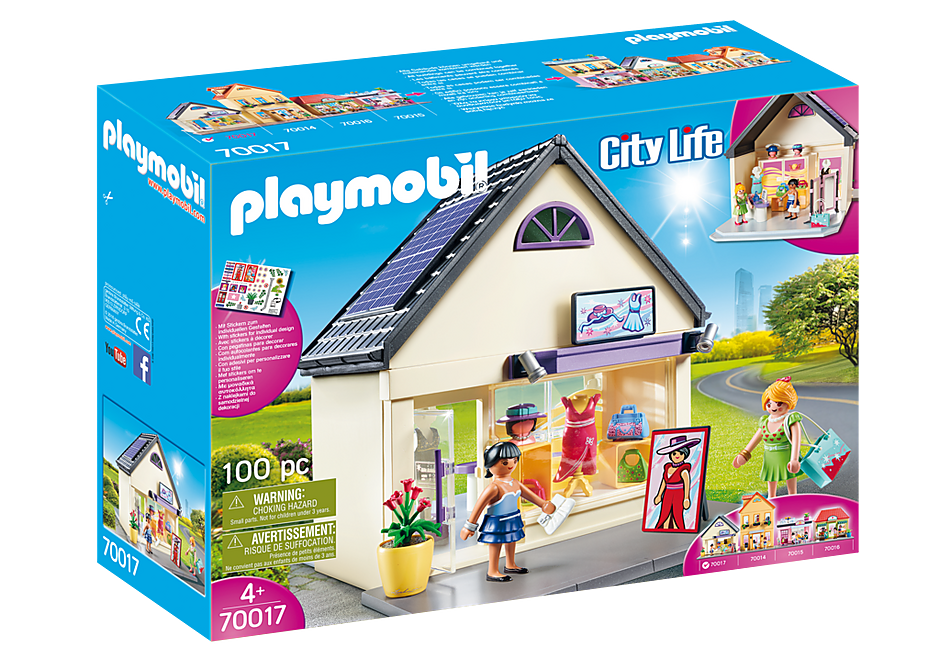 PLAYMOBIL Shopping - Fashion Boutique  - 70017