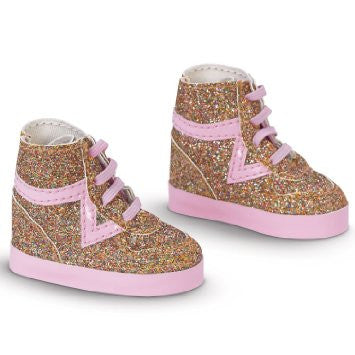 COROLLE LES CHERIES - Clothing - Shoes Pink & Glitter Boots 33cm