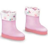COROLLE - LES CHERIES - Clothing - Doll Shoes Pink Boots 33cm