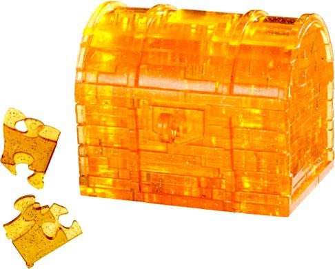 CRYSTAL PUZZLE 3D Treasure Chest