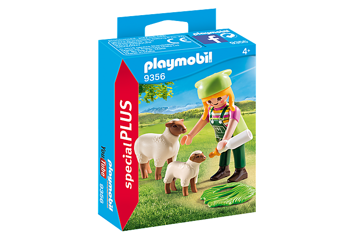 PLAYMOBIL Farmer with Sheep - 3.95