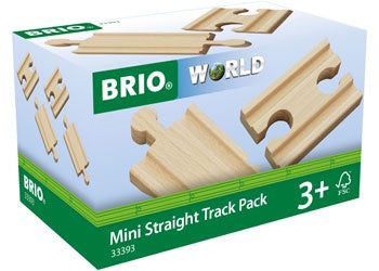 BRIO Tracks - Straight Mini - 4 Piece - 33393