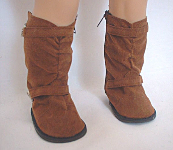 DRESS MY DOLL Boot Soft Top w/Buckles