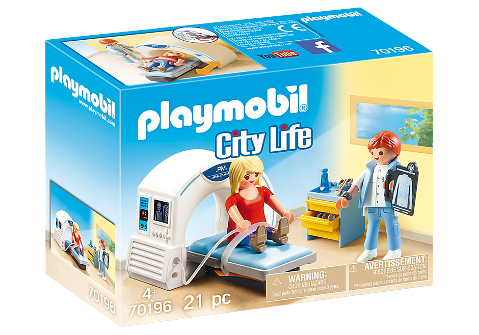 PLAYMOBIL - City Life Medical - Radiologist - 70196