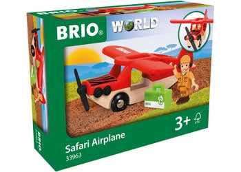 BRIO Vehicle - Safari Airplane - 3 pieces - 33963