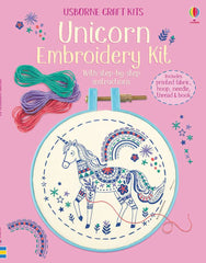 Unicorn Embroidery Kit- Usborn Craft Kits