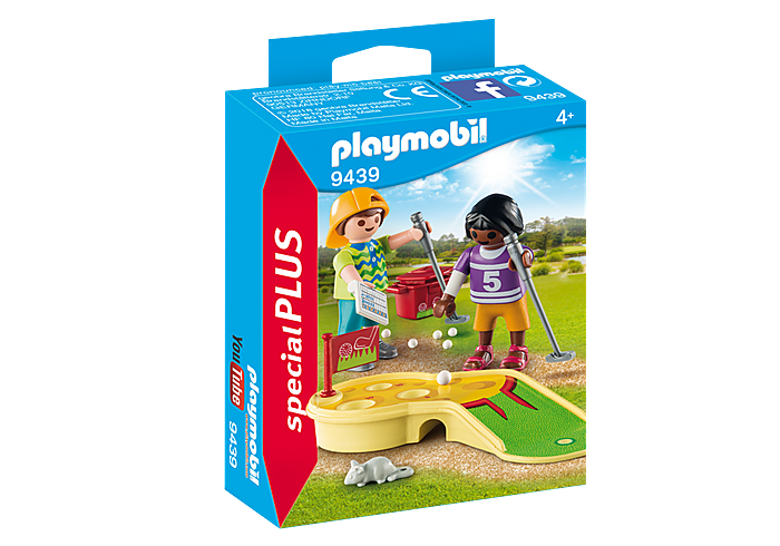 PLAYMOBIL  Children with Mini Golf - 9439