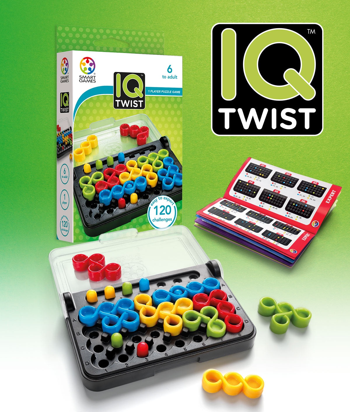 SMART GAME IQ Twist - Single Player Game