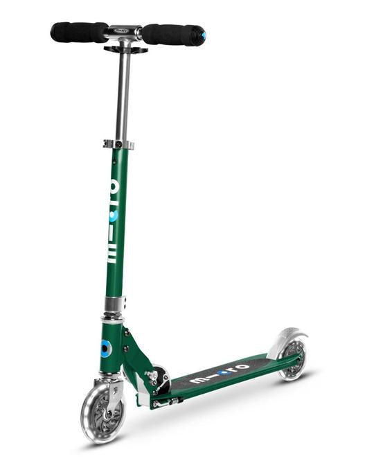 MICRO SCOOTER - Sprite LED  Light Up Scooter - Forest Green