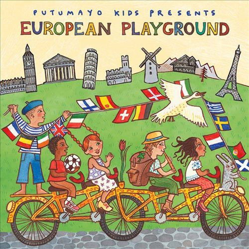 PUTUMAYO MUSIC European Playground CD