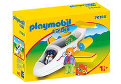 PLAYMOBIL 123 - Plane with Passenger - 70185