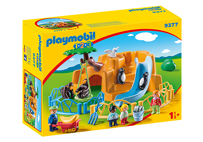 PLAYMOBIL 123 - Zoo - 9377