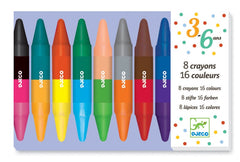 DJECO Art 8 Double Ended Crayons