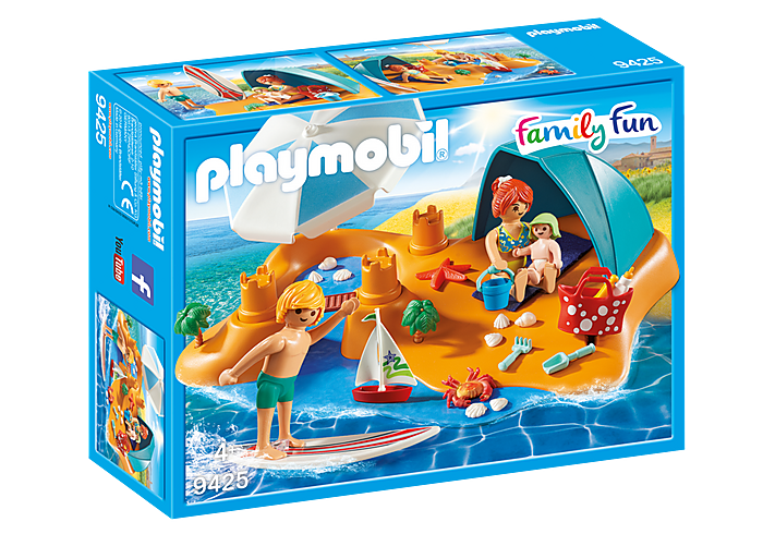 PLAYMOBIL Family Fun - Family Beach Day - 9425