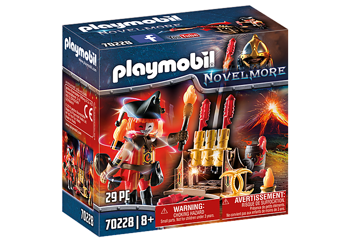 PLAYMOBIL Burnham Raiders  - Fire Master - 70228