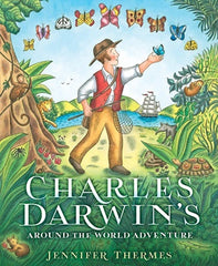 Charles Darwin's Around-the-World Adventure - Hardback Book