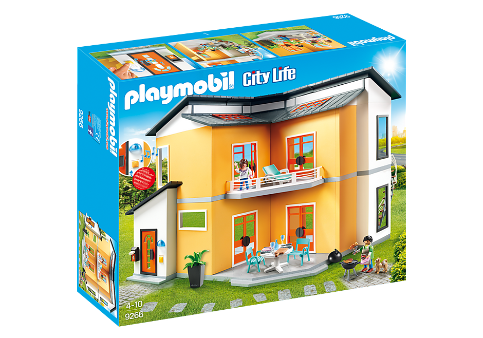 PLAYMOBIL - Doll House - Modern House 9266