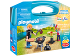 PLAYMOBIL Carry Case - Backyard Barbecue  - 5649