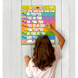FIESTA CRAFTS Magnetic Chart - Our Week Chart