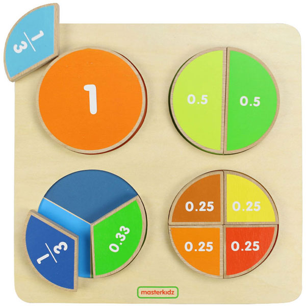 MASTERKIDZ Fraction Board