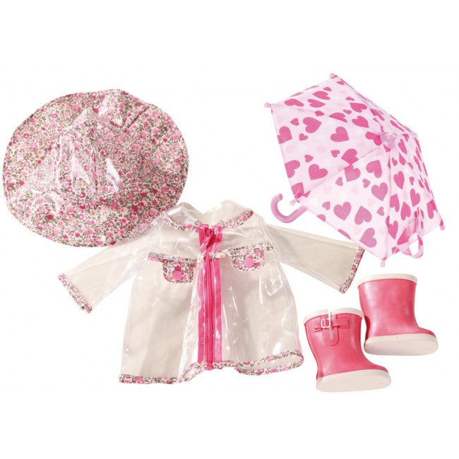 GOTZ Wardrobe Raincoat Set 45-50cm