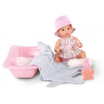 GOTZ Sleepy Aquini Bath Doll Set Girl 33cm