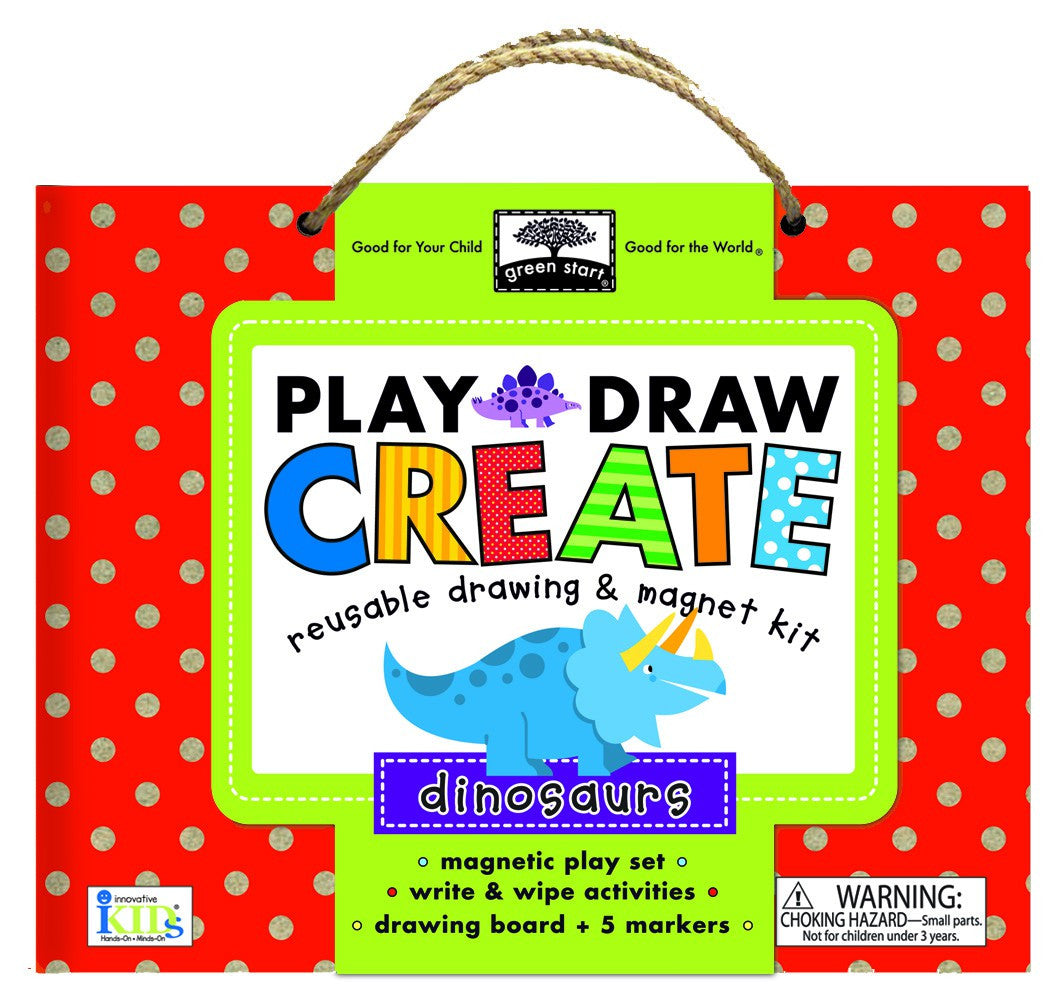 GREEN START Create Play Draw Dinosaur