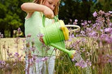 GREEN TOYS Watering Can with Tools