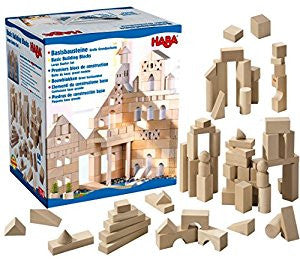 HABA Natural Building Blocks -  XL Starter Set