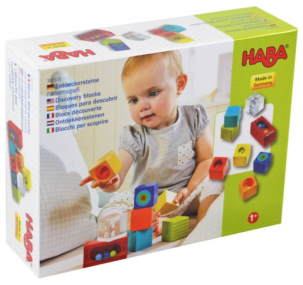 HABA - Discovery Blocks - Sensory - Set of 8