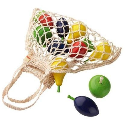 HABA Wooden Fruits in String Bag